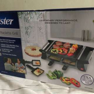 Oster mini raclette grill