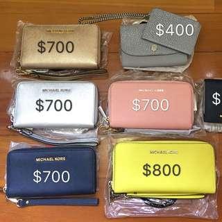Michael Kors wallet 銀包