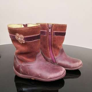 Clarks Girl Boots