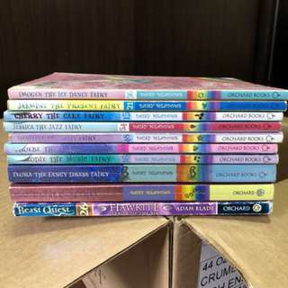 Children story books (Rainbow Magic, Beast Quest)