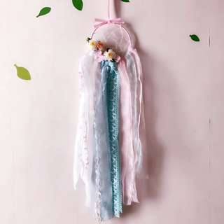 Handmade with love Bears dreamcatcher blossom blossom