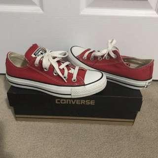 All star converse size 5.5(women) 3.5(men)