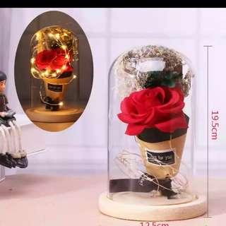 Flower glass led