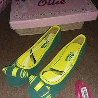 Ollie green dollshoes US3(34)