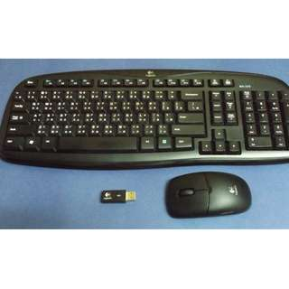 Logitech MK250 Wireless Keyboard and Mouse (羅技無綫滑鼠鍵盤組)