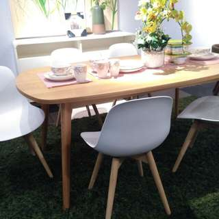 Cicilan Marte Dining Table with 5 Chairs