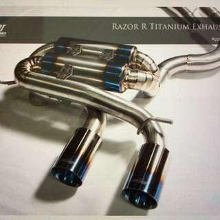 Revosport Razor R Titanium Exhaust Golf 6R