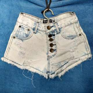 Pre-loved Highwaist Ripped Shorts ❣