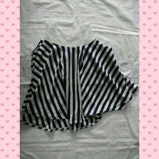 Top layer stripe