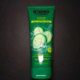 FREEMAN Renewing Cucumber Peel-Off Gel Mask