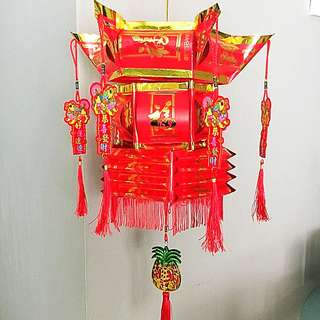 Hand made Chinese New Year Lantern