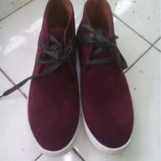 Preloved 2401 Maroon Casual Shoes Size 41