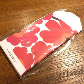 Marimekko Red pocket Set