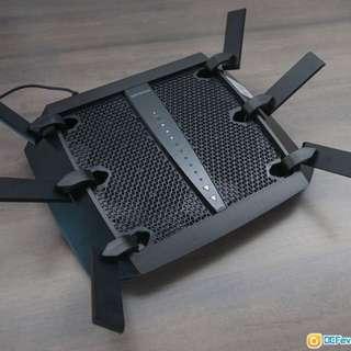 NETGEAR Nighthawk X6 AC3200 Tri-Band Gigabit 無線WiFi Router