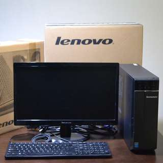 Lenovo Ideacenter 300s 4th Gen Intel Core i5 Desktop Gaming PC
