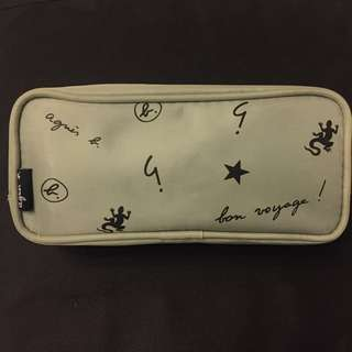 Agnes b pencil pouch/cosmetic pouch
