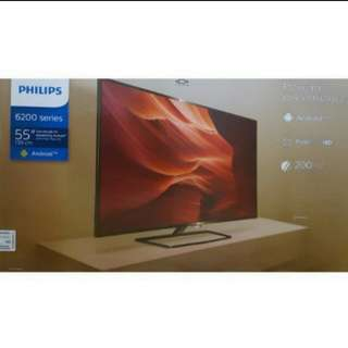 "(55"" Android Tv) Brand New Philips 55"" Full HD Digital Led Tv powered by Android 55PFT6200/98"