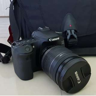 Canon 70D with 18-200mm lens