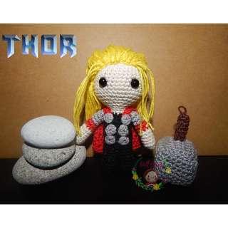 Thor Doll - Chibi Marvel Heroes Thor Ragnarok