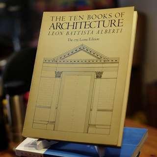 Ten Books of Architecture