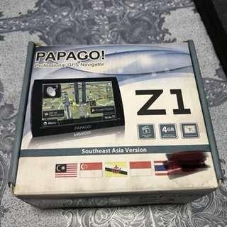 Papago Z1 GPS