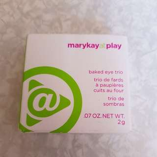 Mary Kay baked eye trio