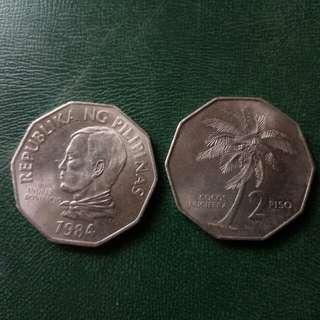 Collectible Coin,CoCos Nucifera 2 Piso, Andres Bonifacio Coin