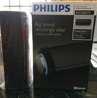 Philips SHOQBOX Wireless Portable Speaker SB7100/98