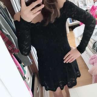 🚚 正韓超美蕾絲洋裝
