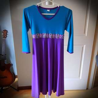 Girls jubah dresses M & XL