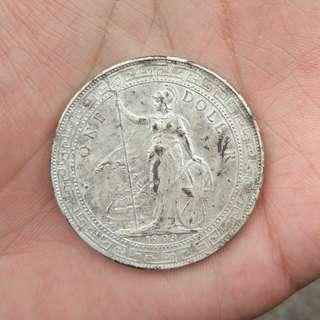 1903-B/British trade dollar/站洋