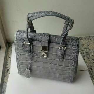 New Giorgio Armani handbag genuine leather