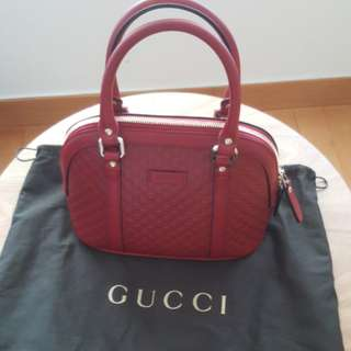 Gucci 2 ways handbag