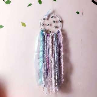 Handmade with love-Bears dreamcatcher: lilac garden