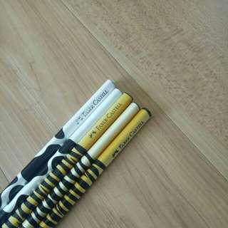 Faber Castell Limited Edition Traingular Pencils