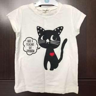 Kitty cat tshirt 1