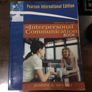 The Interpersonal Communication Book GET1032