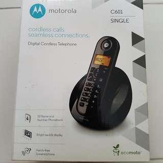 Motorola Digital Cordless Telephone C601
