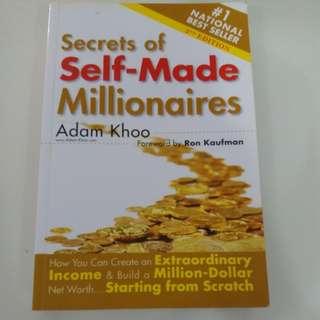 Secrets of self-made millionaires Adam Khoo