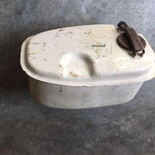 Rare Original 60'S Vespa oil tank