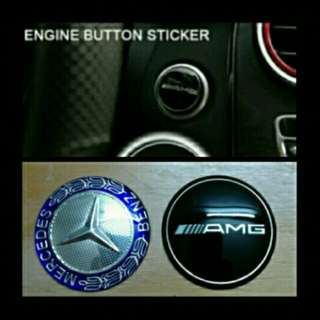 Mercedes-Benz Push Start Emblem