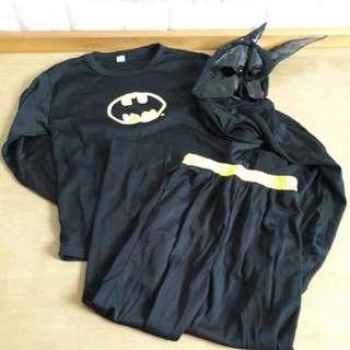 🚚 童裝 萬聖節蝙蝠俠套裝