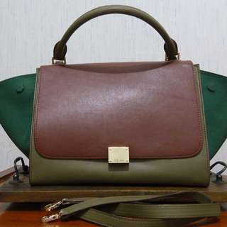 Tas Celine trapezebag second (not ori)