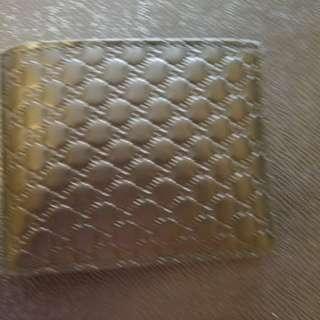 Gucci男士銀包