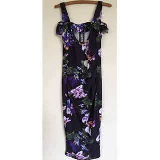 NWT size 8 floral maxi