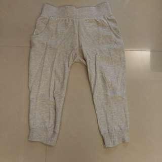 Adidas棉質七分運動褲