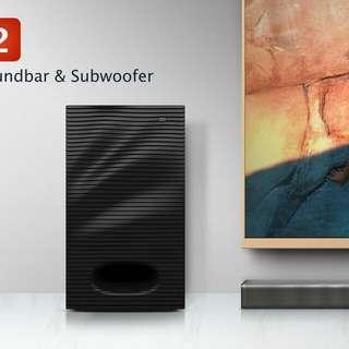 Xiaomi Soundbar and Subwoofer