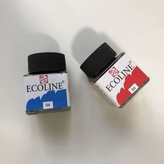 ecoline watercolours?