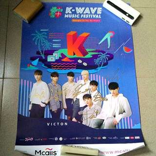 [NEW] Victon Signed Poster