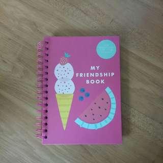 KIKKI.K Friendship Notebook